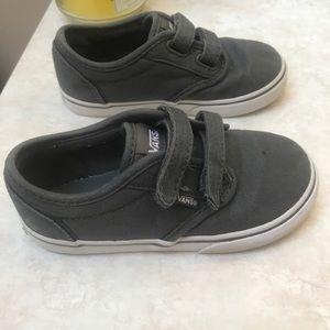 Other - Gray vans toddler shoe